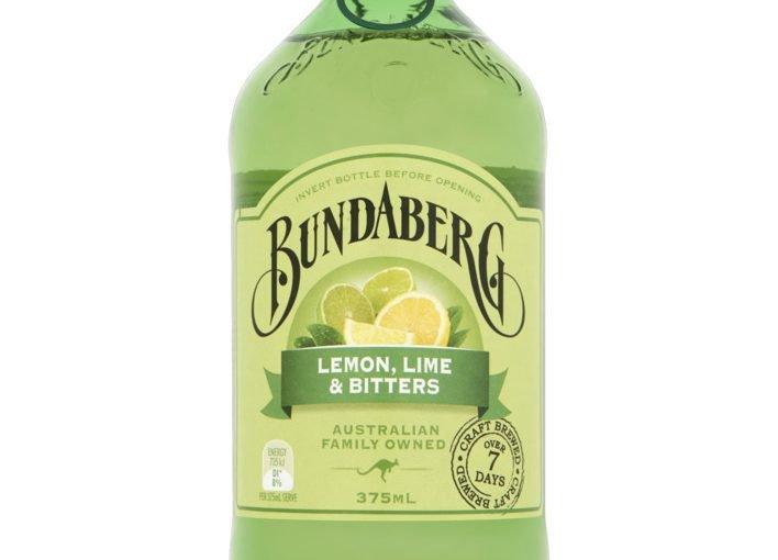 Bundaberg Lemon Lime en Bitters flesje 375ml