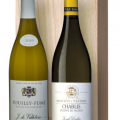 Duo Giftpack Franse classic white 2x75cl gall