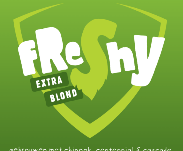 Freshy - Wethop Extra Blond Bier (Rock City Brewing collab)