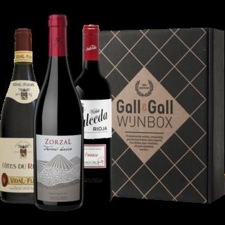Gall & Gall Wijnbox Stoofgerechten 3X75CL