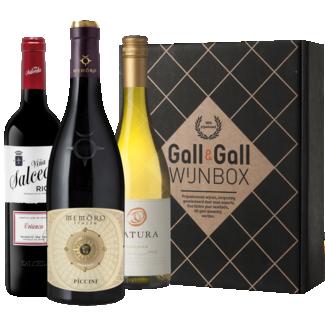 Gall & Gall Wijnbox Winter Deluxe 3X75CL