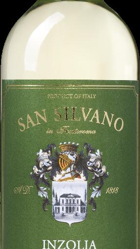 San Silvano – Inzolia Terre Siciliane IGT