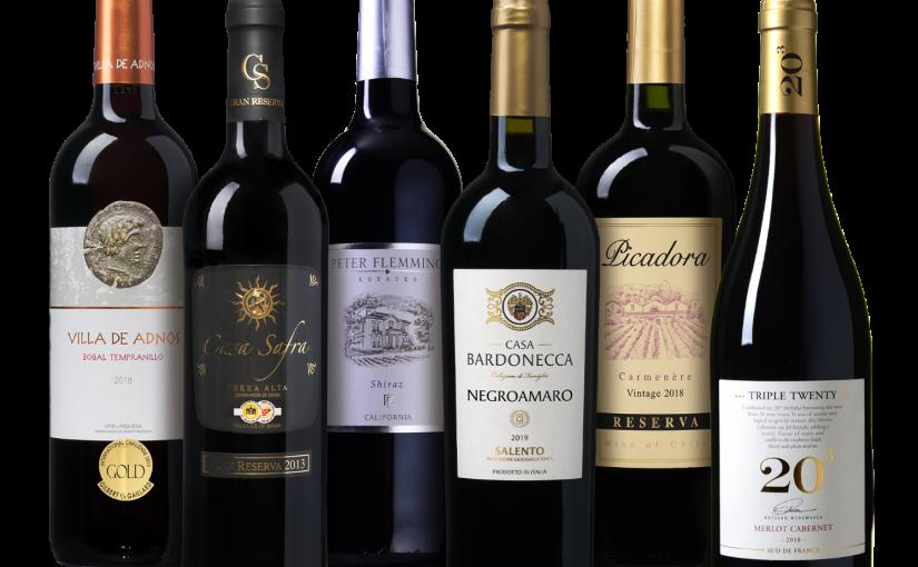 Wijnpakket Rode Wijn