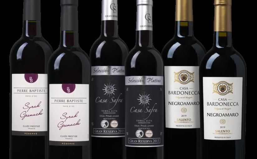 Wijnpakket Wijnvoordeel Huisfavorieten