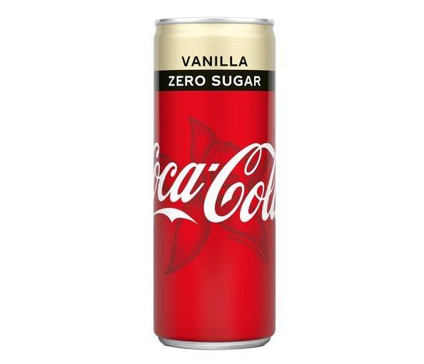 Coca Cola Vanille Zero Tray
