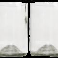 Rebotteld 2 glazen helder GVP 2st gall