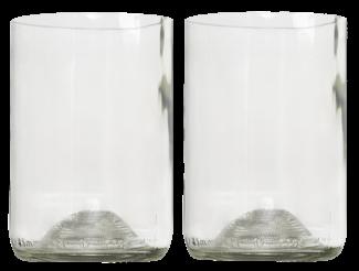 Rebotteld 2 glazen helder GVP 2st