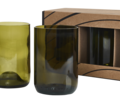 Rebotteld 4 glazen kleur GVP 4st gall