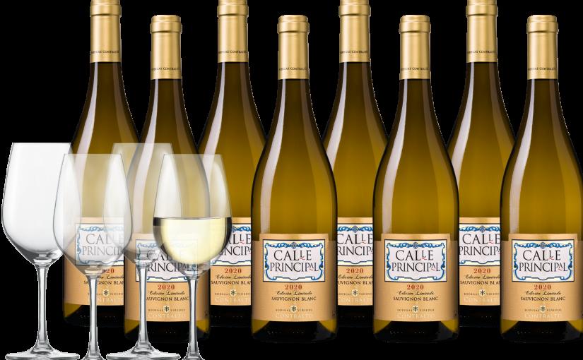Glazenpakket Calle Principal Sauvignon Blanc Edicion Limitada