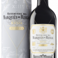Marqués de Riscal Rioja Reserva Metal Sleeve Giftp 75CL gall
