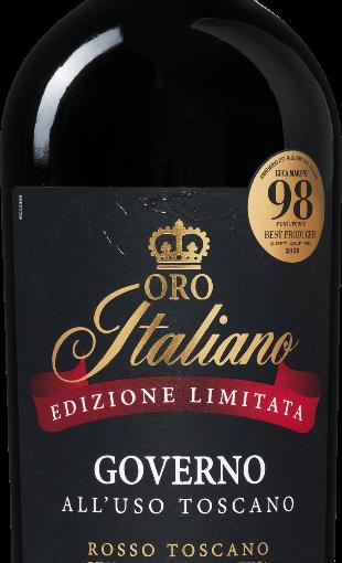 Oro Italiano Edizione Limitata Governo All'Uso Toscano Rosso IGT