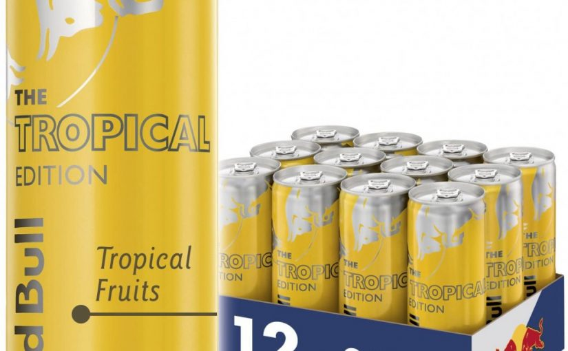 Red Bull Tropical 1/2 Tray