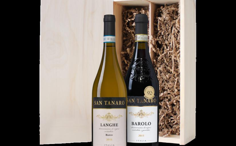 Wijnkist Piemonte (2 flessen)