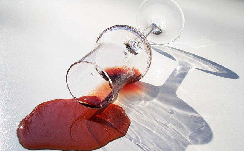 wijnvlekken verwijderen tips