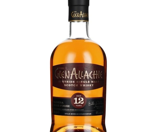 GlenAllachie 12 years Madeira Wood Finish 70CL
